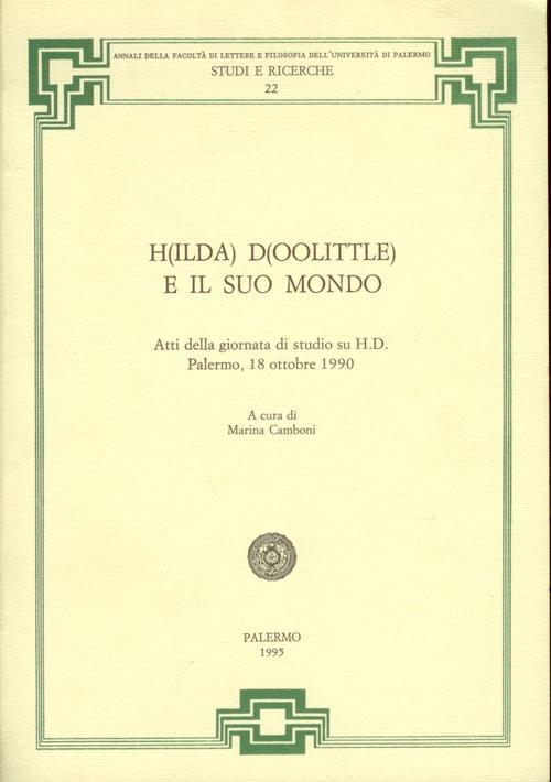 H(ilda) D(oolittle) ...