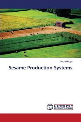 Sesame Production Systems