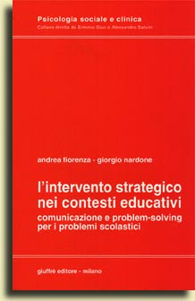 L' intervento strategico nei contesti educativi
