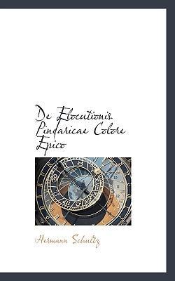 de Elocutionis Pindaricae Colore Epico