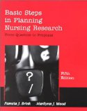 Basic steps in planning nursing research