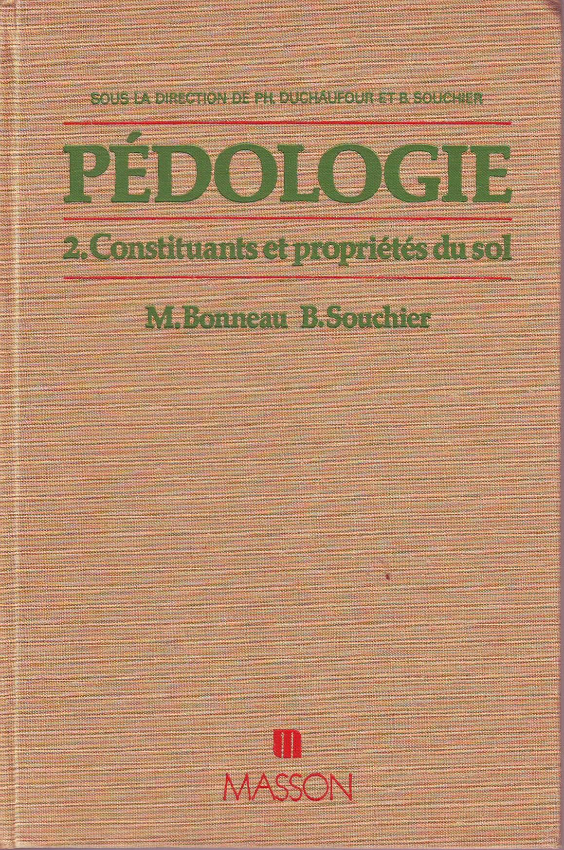 Pédologie, Tome 2