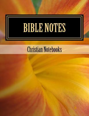Bible Notes Lined Journal