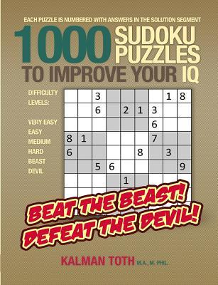 1000 Sudoku Puzzles to Improve Your IQ