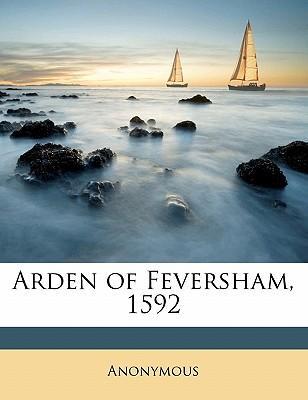 Arden of Feversham, 1592