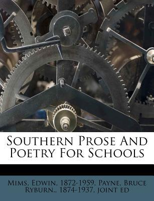 Southern Prose and P...