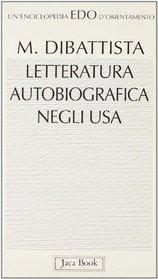 Letteratura autobiografica negli Usa