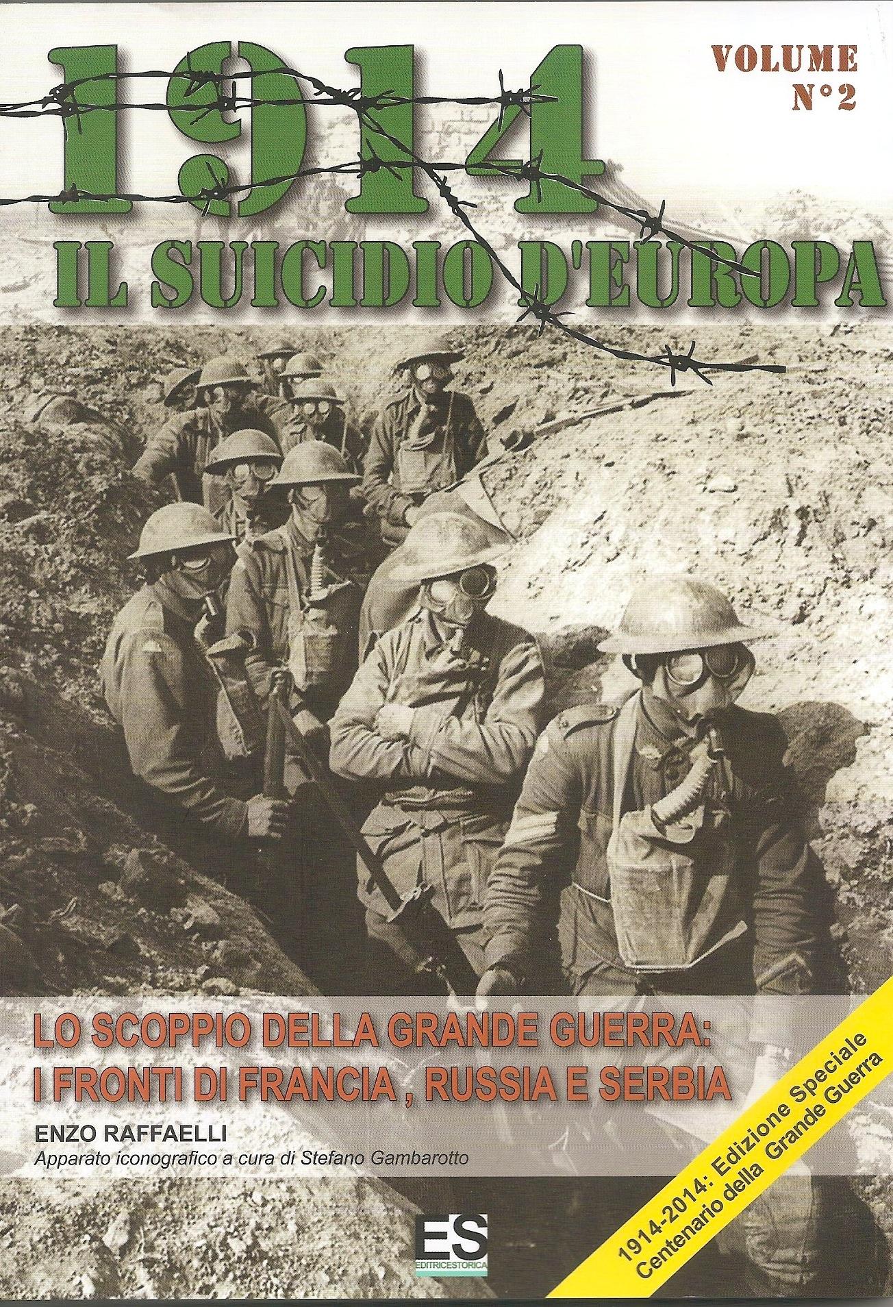 1914 Il suicidio d'Europa - Volume 2