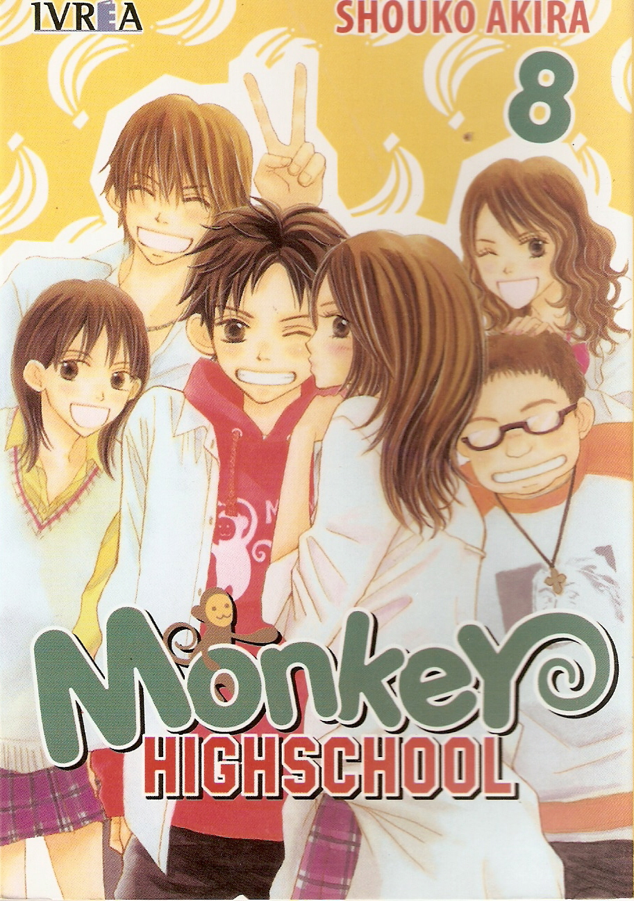 Monkey HighSchool 8