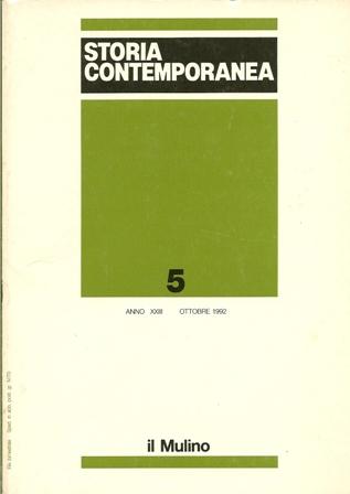 Storia contemporanea n. 5/1992
