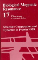 Structure Computation and Dynamics in Protein NMR[