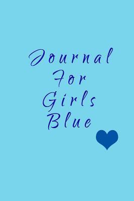 Journal for Girls Blue