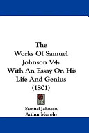 The Works of Samuel Johnson V4