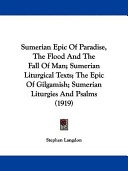 Sumerian Epic of Par...