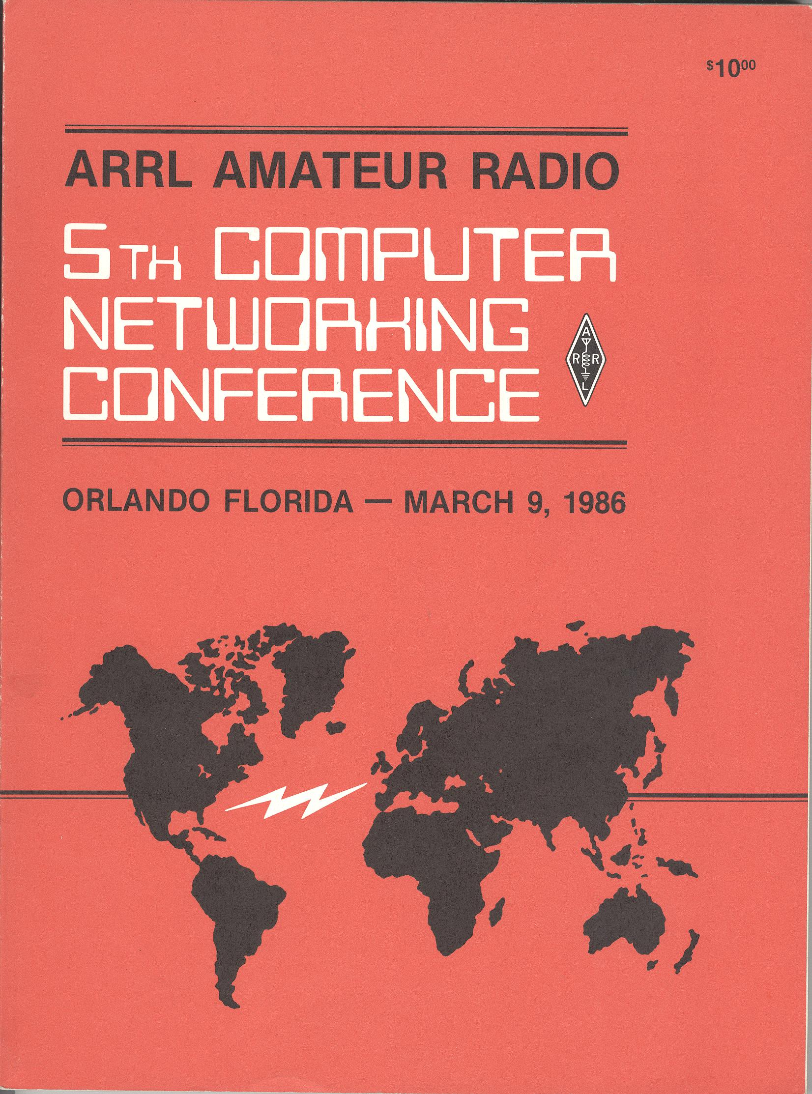 5th ARRL Amateur Radio Computer Networking Conference