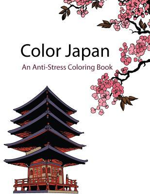 Color Japan Adult Coloring Book