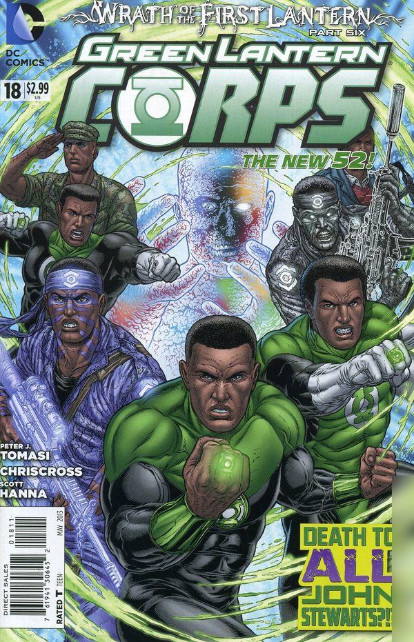 Green Lantern Corps Vol.3 #18