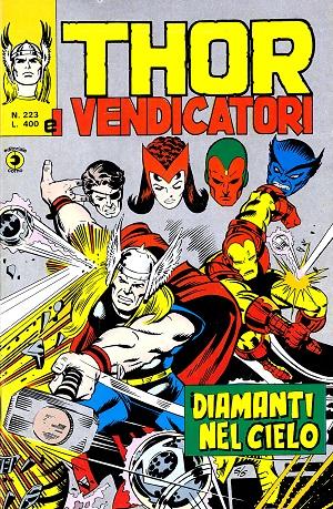 Thor e i Vendicatori (Il Mitico Thor) n. 223