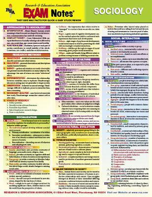 Sociology Exam Notes