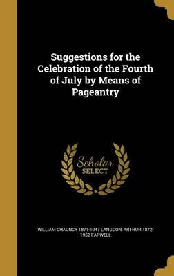 SUGGESTIONS FOR THE CELEBRATIO