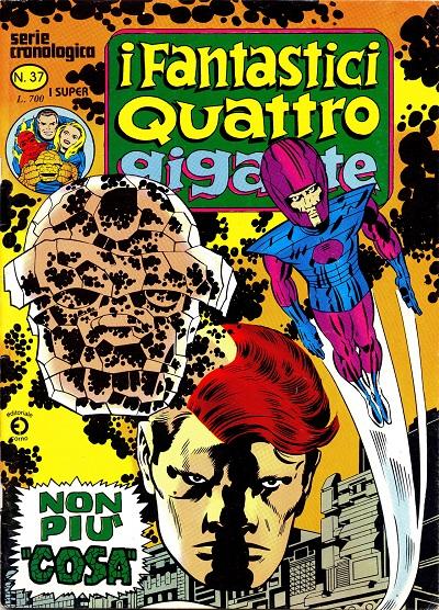 I Fantastici Quattro Gigante n. 37