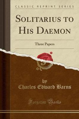 Solitarius to His Daemon