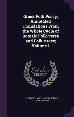 Greek Folk Poesy, An...