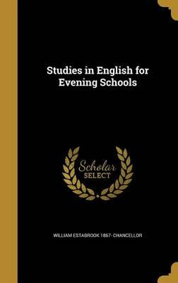 STUDIES IN ENGLISH FOR EVENING