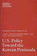 United States Policy Toward the Korean Peninsula