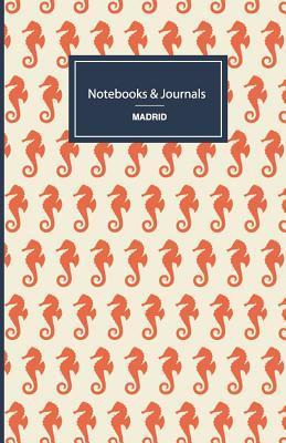 Seahorses Pattern Journal