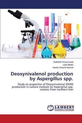 Deoxynivalenol production by Aspergillus spp.