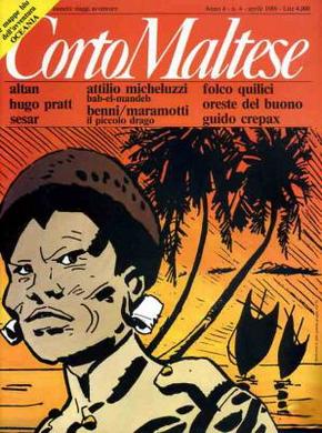 Corto Maltese, Anno IV, n. 4 (aprile 1986)