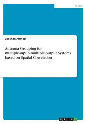 Antenna Grouping for multiple-input-multiple-output Systems based on Spatial Correlation