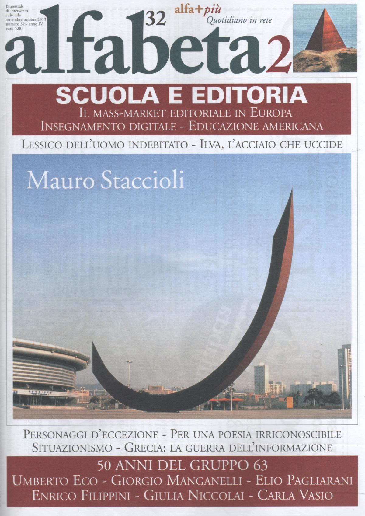 Alfabeta2, Anno IV, n.32 (settembre-ottobre 2013)