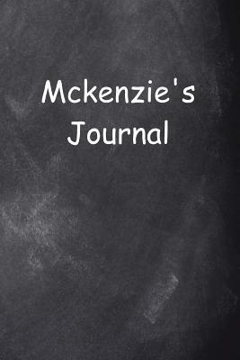 Mckenzie Personalized Name Journal