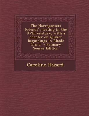 The Narragansett Fri...