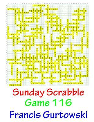 Sunday Scrabble Game 116
