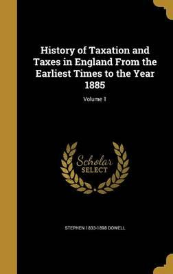 HIST OF TAXATION & TAXES IN EN