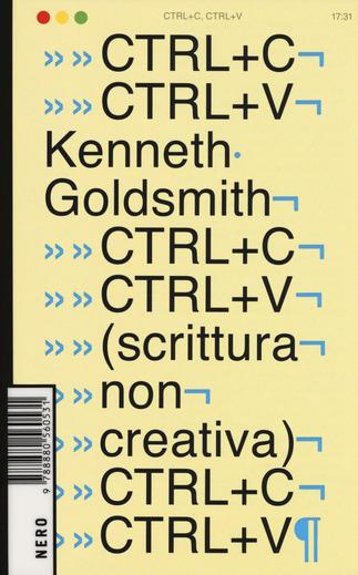 Ctrl+C, Ctrl+V (scrittura non creativa)
