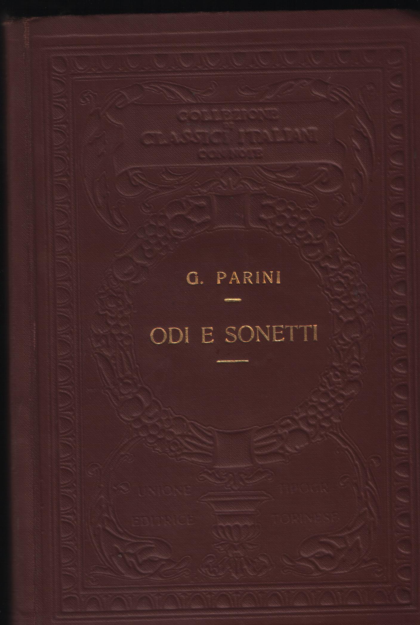 Odi e sonetti