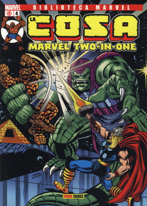 Biblioteca Marvel: La Cosa #4 (de 16)