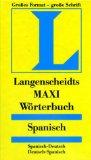 Langenscheidts MAXI Wörterbuch Spanisch