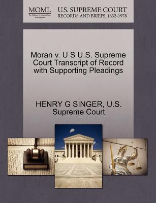 Moran V. U S U.S. Su...