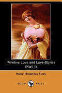 Primitive Love and Love-Stories