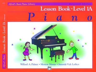 Alfred's Basic Piano Lesson Book