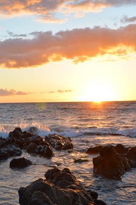 Kihei Sunset, Maui, ...