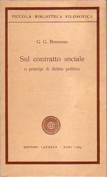 Sul contratto social...