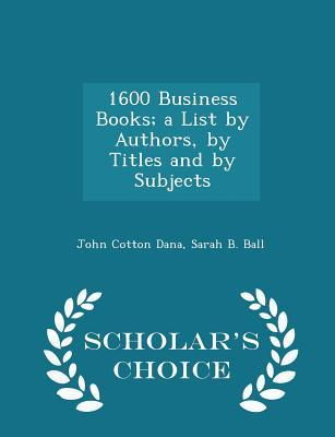 1600 Business Books;...