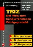 TRIZ - der Weg zum konkurrenzlosen Erfolgsprodukt