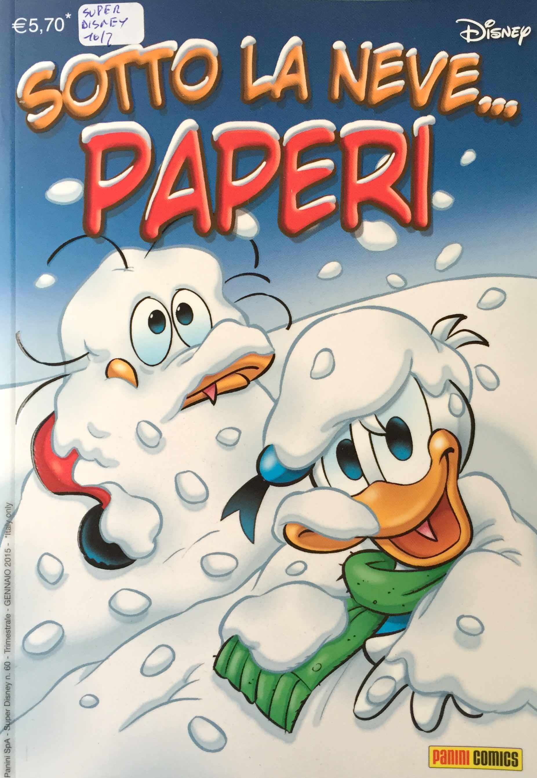 Sotto la neve… paperi